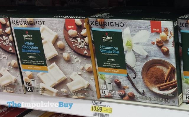 Archer Farms White Chocolate Macadamia and Cinnamon Vanilla Nut K-Cups