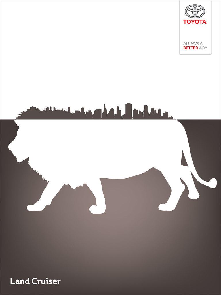 Toyota Land Cruiser - Wild City Lion King