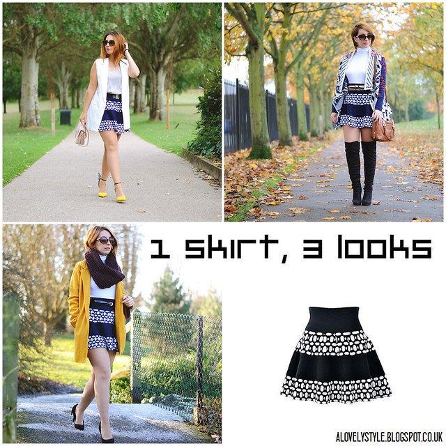 1skirt3looks