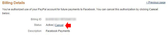 How to cancel PayPal recurring Payments step 5