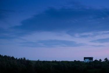 House at Dusk in Prince Edward Island