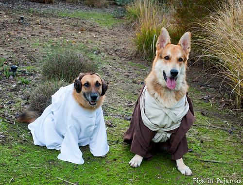 Leia and Obi-Wan