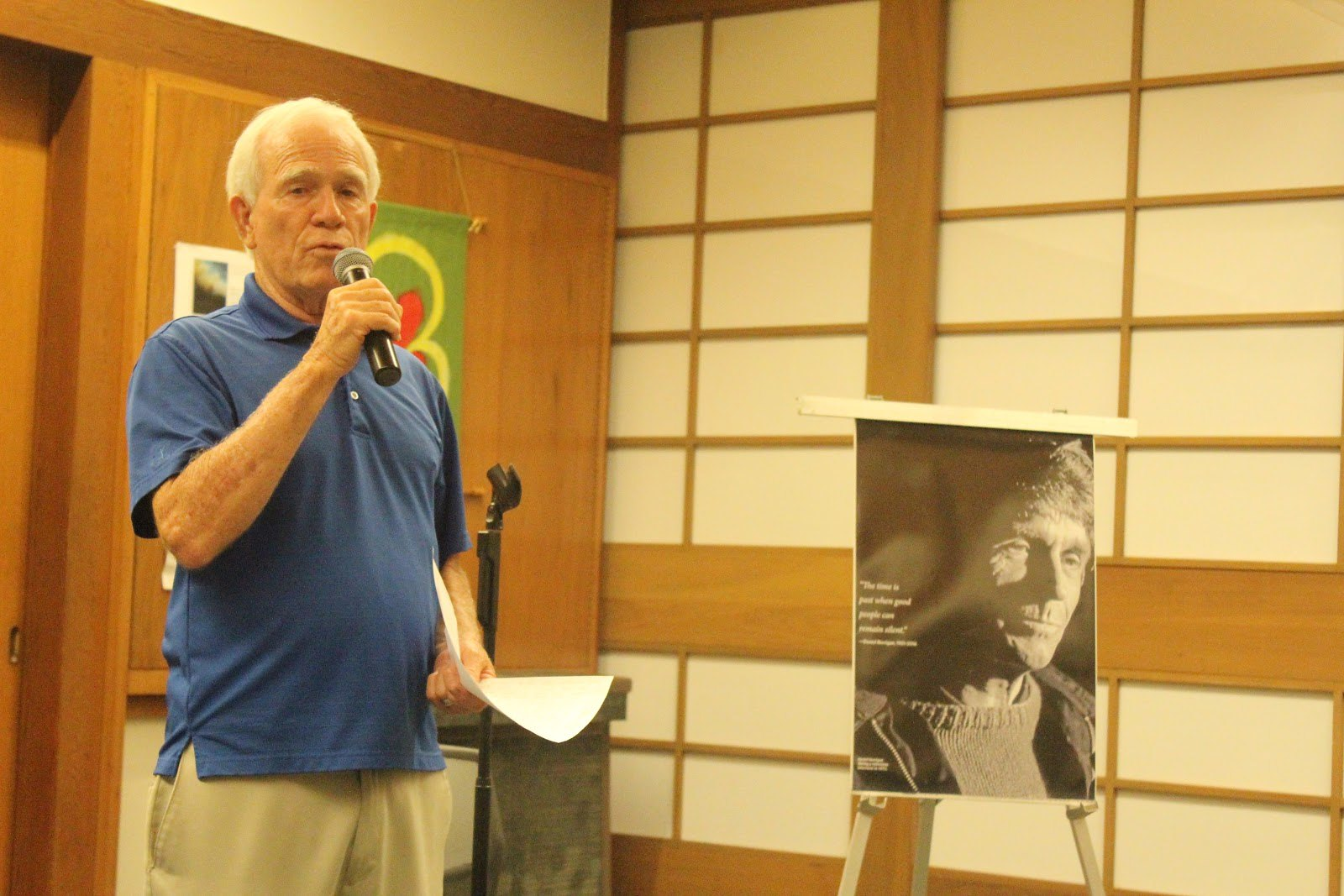 Honolulu, HI Newman Center Daniel Berrigan Remembrance 2016 (26)