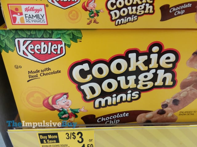 Keebler Chocolate Chip Cookie Dough Minis
