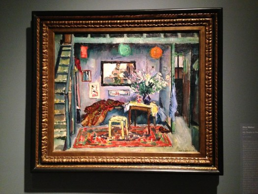 Max Weber: My Studio in Paris