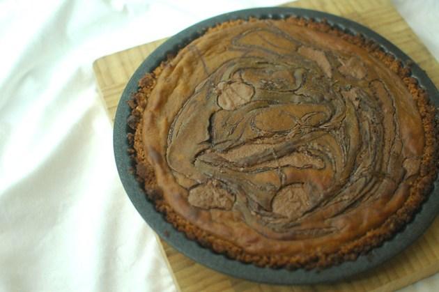 Pumpkin & Nutella Pie