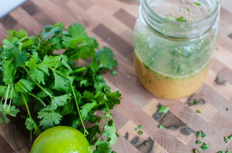 Honey Lime Cilantro Vinaigrette 3