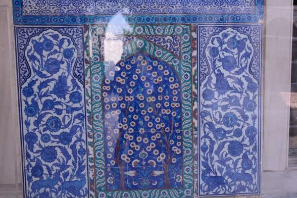 皇子の割礼室2のタイル