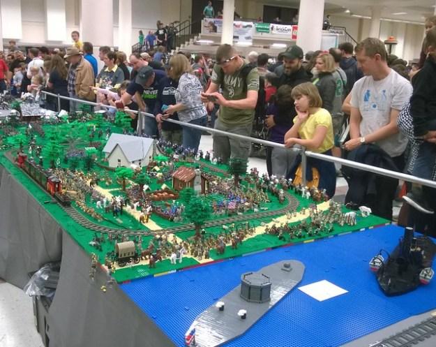 Battle of Bricksburg overview