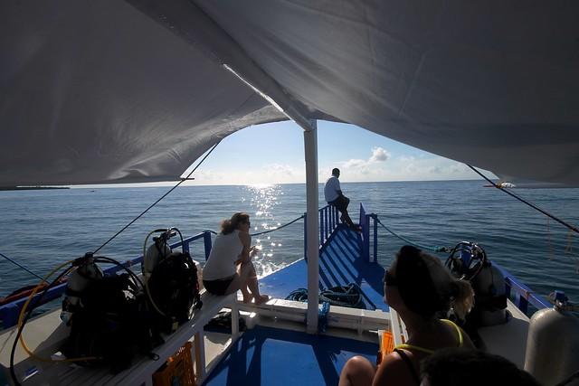 Dive Boat at Honda Bay