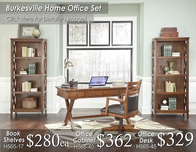 Burkseville Home Office Set