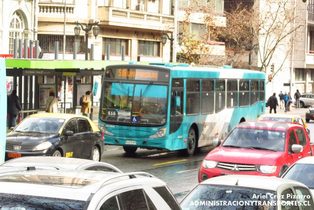 Transantiago - Metbus - Caio Mondego H / Mercedes Benz (BJFV40)