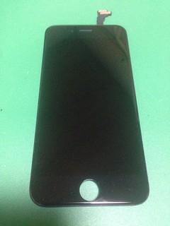 iPhone6のフロントパネル黒