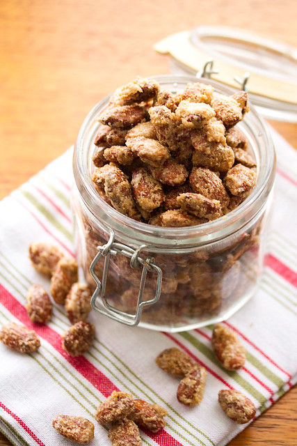 Candied Gingerbread Sugared Almonds