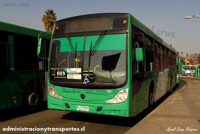 Transantiago - Buses Vule - Caio Mondego H / Mercedes Benz (BJFV92) (241)