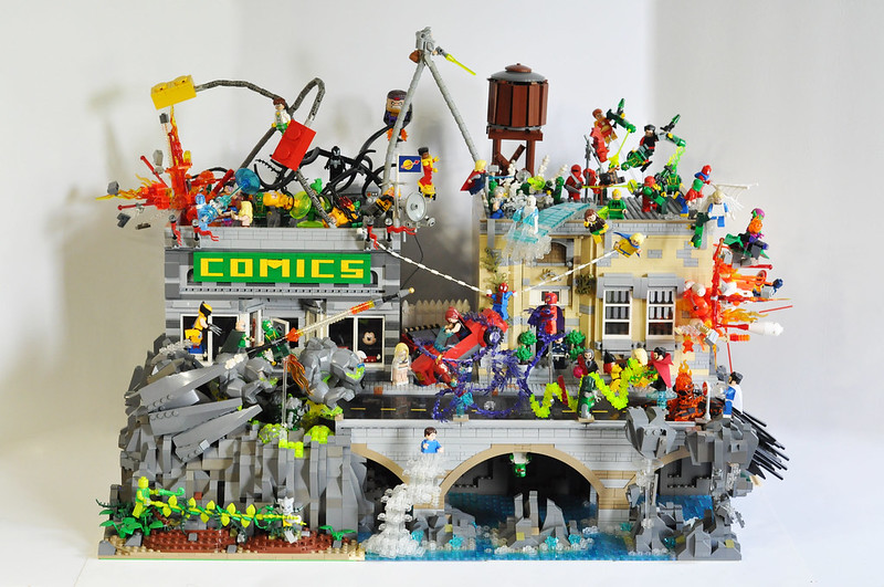 Brick Show's Top 10 Marvel-Inspired LEGO MOCs! - The Brick Show