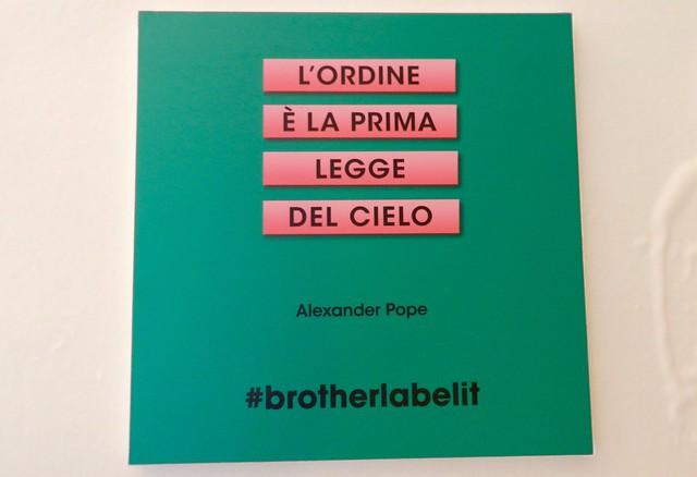 etichettatrice brother