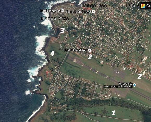 Mapa Spotting Hanga Roa