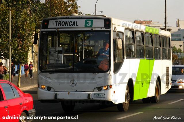 Transantiago - Buses Gran Santiago - Caio Apache S21 / Mercedes Benz (VE6027)