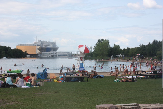 Montreal beach complex