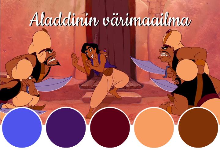 Aladdinin värimaailma - Disnerd dreams