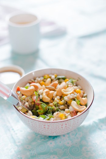Simple Barley Salad