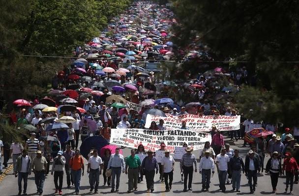 Michoacán: 28 órdenes de aprehensión contra maestros y normalistas