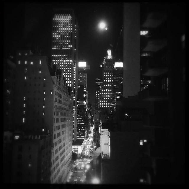 Moon Over 58th Street