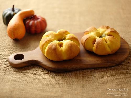かぼちゃあんパン 20151006-DSCF0030