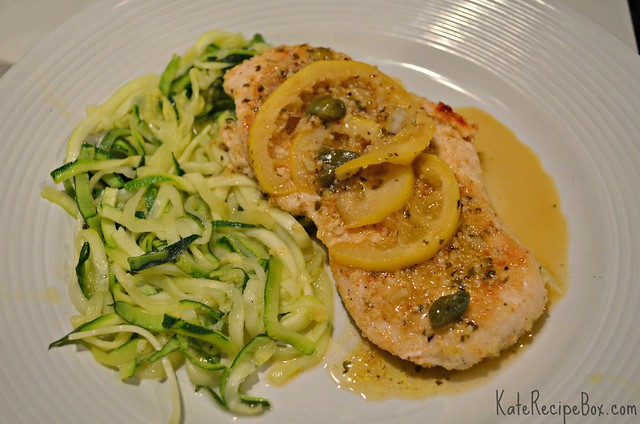 ChickenPicattaZoodles