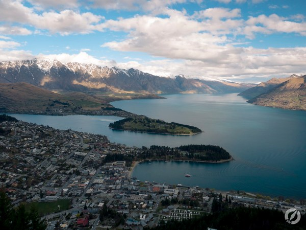 Queenstown View from Gondola