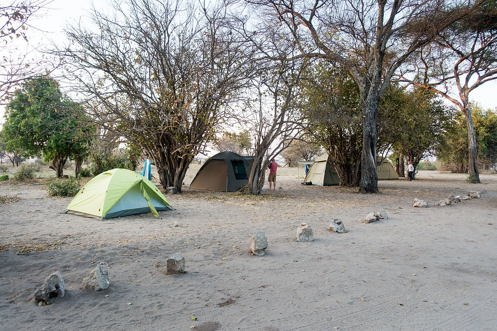 Our campsite in Tarangire National Park