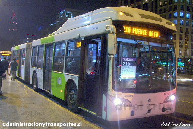 Transantiago - Subus Chile - Caio Mondego LA / Volvo (ZN5591) (9077)