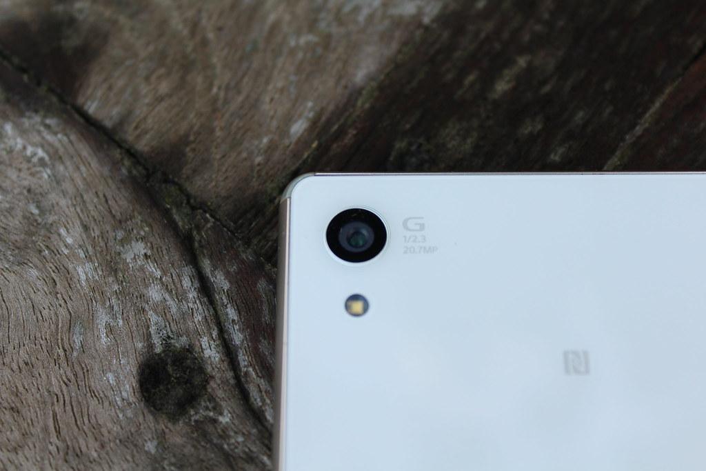 De camera van de Sony Xperia Z3 Plus is goed, al hadden we er misschien iets meer van verwacht.