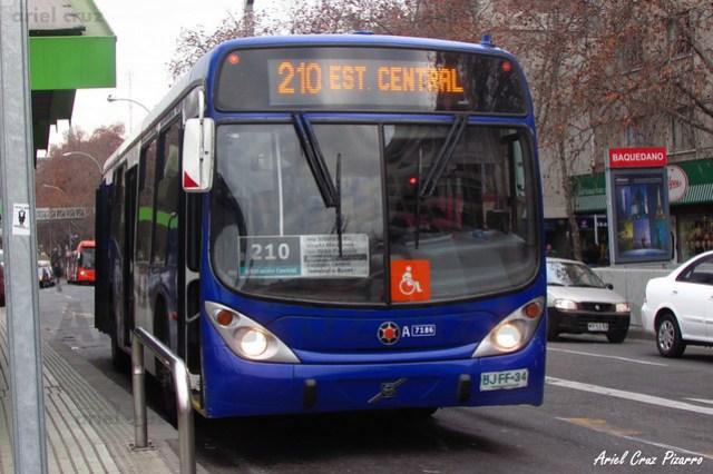Transantiago - Subus Chile - Marcopolo Gran Viale / Volvo (BJFF34)