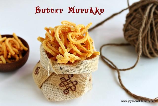 butter- murukku