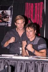 Casper Van Dien and Patrick Muldoon
