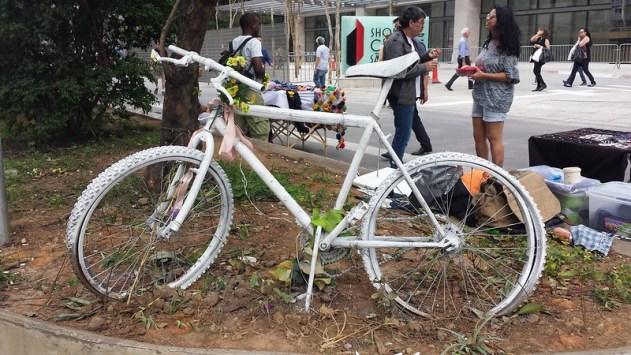 Ghots Bike na Paulista