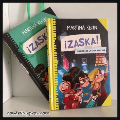 "Libro ""¡Zaska! Perdidos en la Gran Manzana"", de Martina Klein"