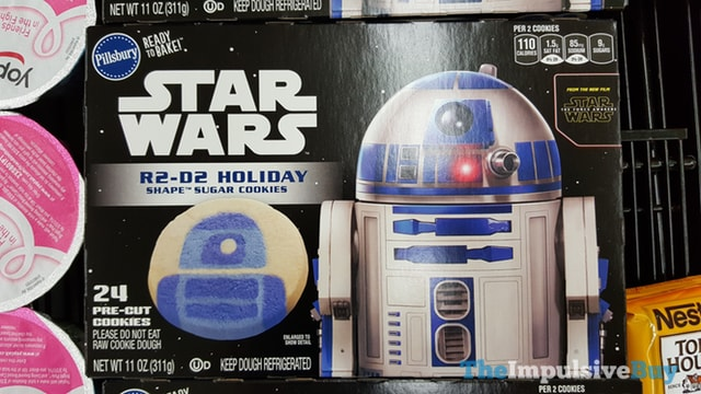 Pillsbury Star Wars R2-D2 Holiday Shape Sugar Cookies