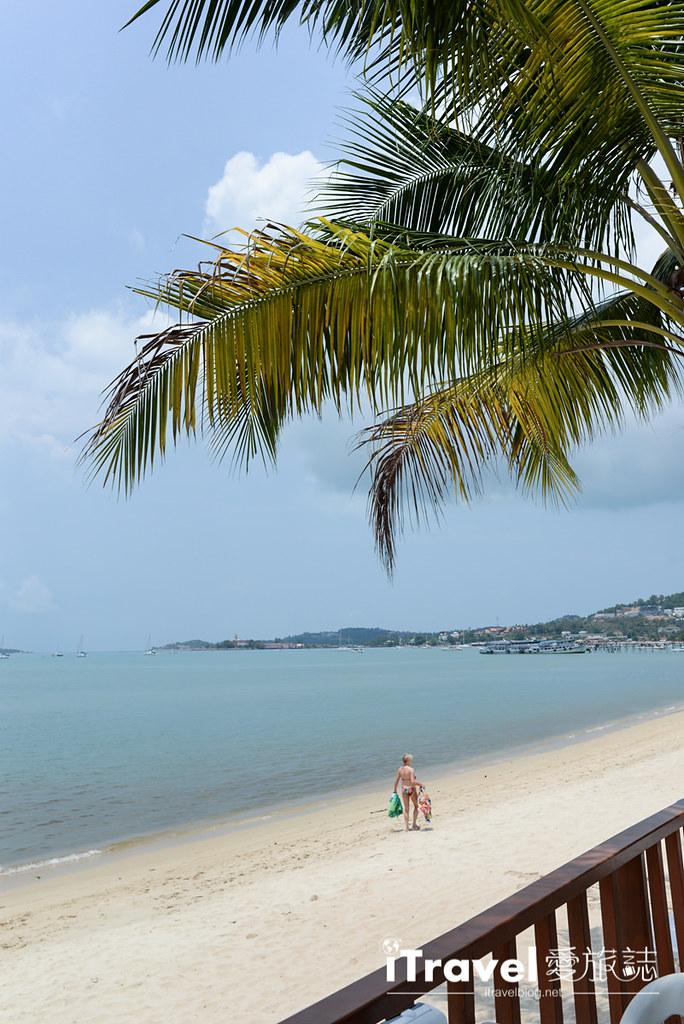 《苏美岛餐厅推介》忠爹海鲜料理 Daetong Seafood Restaurant,沙滩海水连天一色