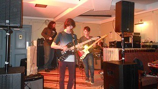 Not Today live at the Ivy Bar, Newtownards