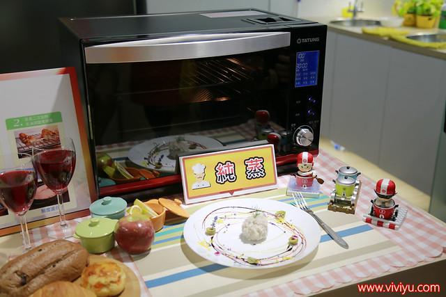 [活動]大同全功能蒸氣烤箱體驗會.大同健康生活館時尚優雅~周文森老師、松露鵝肝雞肉捲、檸檬蛋糕、珍珠肉丸、雙味焗烤扇貝食譜分享 @VIVIYU小世界