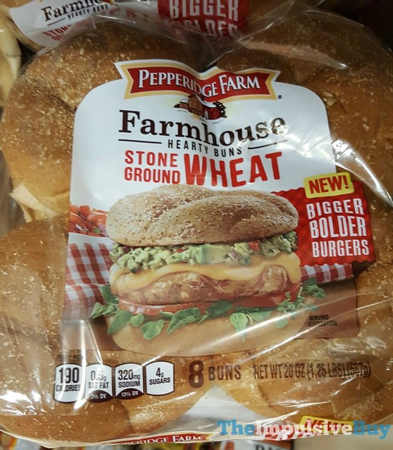 Pepperidge Farm Stone Ground Wheat Farmhouse Hearty Buns