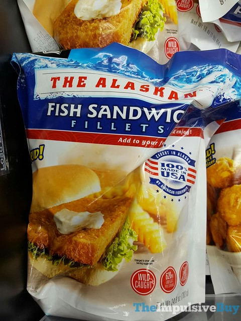 Trident The Alaskan Fish Sandwich Fillets