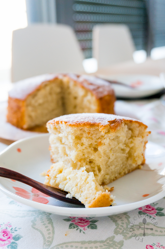 Lemon Yogurt Olive Oil Cake