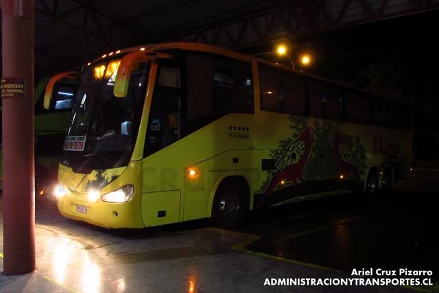 Pullman Luna Express - Temuco - Irizar Century 3.90 / Mercedes Benz (DBLS72)