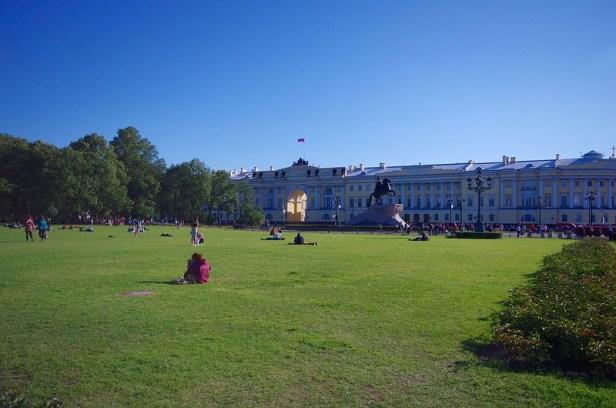 Сенатская площадь,  Санкт-Петербург, Россия