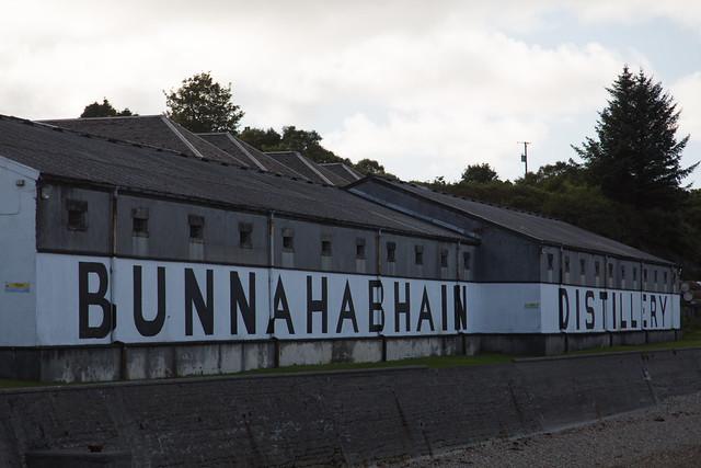 Bunnahabhain Distillery #夢見た英国文化