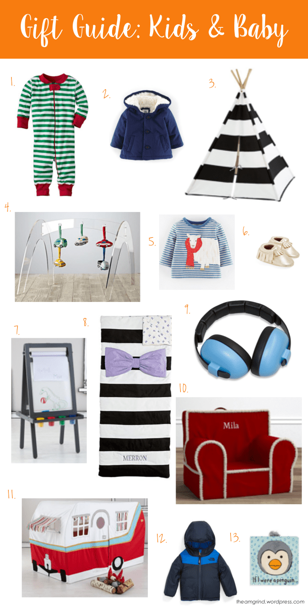 Gift Guide Kids and Baby